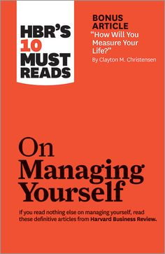 Managing Oneself by Peter F. Drucker — We live in an age of unprecedented opportunity: If you've got ambition and smarts, you can rise to the top of your chosen profession, regardless of where you started out.  But with opportunity comes responsibility. Companies today aren't managing their employees' careers; knowledge workers must, effectively, be their own chief executive officers. It's up to you.