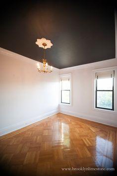 Brooklyn Limestone: Black Ceiling Love