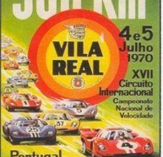 Cartaz do Circuito de Vila Real de 1970