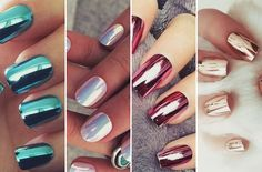 Veja o passo a passo para dar o efeito nas suas unhas com purpurina, sombra ou iluminador. Unhas cromadas é super tendência!