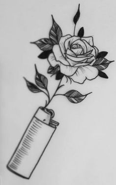 Bild über Kunst in 🌙 von Madness on We Heart It – Pedro – Trippy Drawings, Dark Art Drawings, Tattoo Design Drawings, Art Drawings Sketches Simple, Pencil Art Drawings, Tattoo Designs, Rose Drawings, Drawing Art, Tattoo Sketches