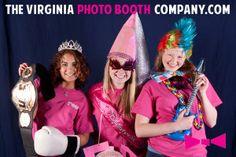 Gamma Phi Beta Sorority at UVA Bid Day Celebration, The Virginia Photo Booth Company