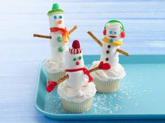 1 box Betty Crocker® SuperMoist® white cake mix  Water, vegetable oil and egg whites called for on cake mix box  1 container Betty Crocker® Whipped fluffy white frosting  White decorator sugar crystals  1 bag (16 oz) large marshmallows  Pretzel sticks  Betty Crocker® Fruit by the Foot® chewy fruit snack rolls, any red or orange flavor  Assorted candies (such as gumdrops, gummy ring candies, peppermint candies, chocolate chips, pastel mint chips, Betty Crocker® candy decors, string licorice)