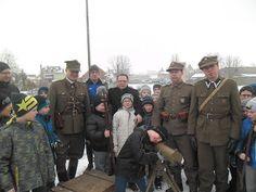 Aktualności: Wizyta Grupy Rekonstrukcyjnej im. 70 Pułku Piechot...
