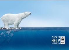 Digital advertisement created by BBDO, Russia for WWF, within the category: Public Interest, NGO. Creative Advertising, Advertising Poster, Visual Advertising, Advertising Campaign, Green Marketing, Polaroid, Ad Of The World, Save Nature, Guerilla Marketing