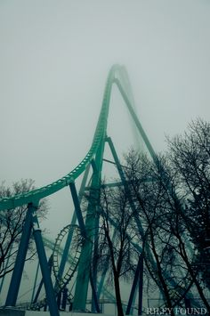 Leviathan Roller Coaster ... rode it 3 times in one day... epic!