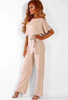 02d6a06fc159 Fashion Lace Up Short Sleeve Jumpsuit – Exlura