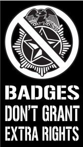 Cop Block Business Card Badges Gives Cops The Right To Murder Innocent People and Get Away With It Only In America