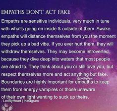 Empath Traits, Intuitive Empath, True Quotes, Great Quotes, Inspirational Quotes, Empathy Quotes, Boundaries Quotes, Empath Abilities, Empathic