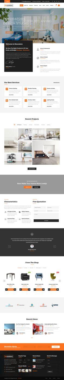 Decorators - Joomla Template for Architecture & Modern Interior ...