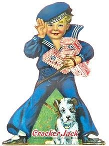 Cracker Jacks- When the prizes were something to be excited about...