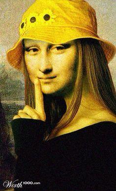 Mona hippo [Deborah Dallinga] (Gioconda / Mona Lisa)