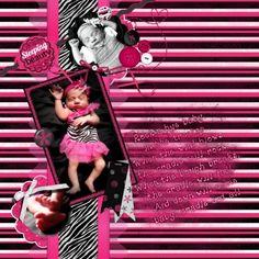 Jenialyse Marie layout by Renee Biggie | Pixel Scrapper digital scrapbooking