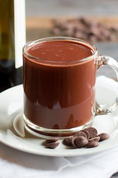 Red Wine Hot Chocola