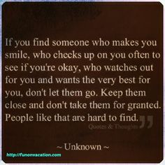 This is great advice. If you have 1 person like this you have been blessed