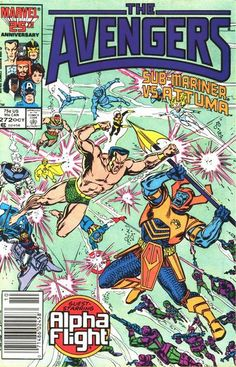 Avengers # 272 by John Buscema & Tom Palmer