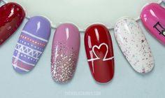 The Nailasaurus | UK Nail Art Blog: 20(ish) Valentine's Day Nail Art Ideas