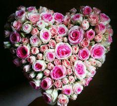 * Flower Arrangements, Floral Wreath, Happy Birthday, Wreaths, Decoration, Heart, Ideas, Fashion, Hearts
