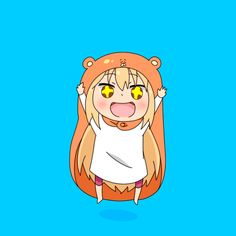 This is my 1,000 pin for this board! Yay!!!  Umaru-chan