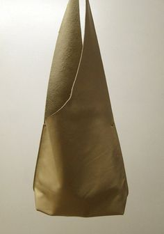 Shoulder Handbag Handmade In Cream Leather by JPRESTONHANDBAGS