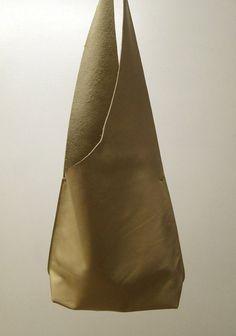Shoulder Handbag Handmade In Cream Leather by JPRESTONHANDBAGS