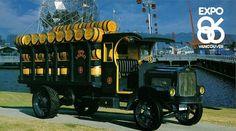 1919 White Keg Truck, Labatt Brewing Co. by aldenjewell, via Flickr