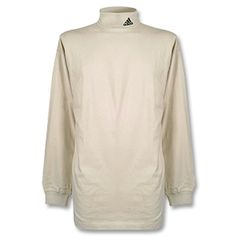 Adidas Roller Collar Polo shirt L/S - Beige Size XXL - 48-50 chest http://www.comparestoreprices.co.uk/football-shirts/adidas-roller-collar-polo-shirt-l-s--beige.asp
