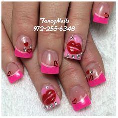 Fesselnd Valentines Day Nails | Nails Valentines Day | Pinterest | Valentines, Nails  And Valentine Day Nails
