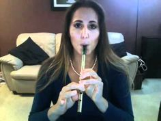 """Concerning Hobbits"" from The Lord of the Rings on the tin whistle, Elizabeth Velez Urie of inspirationalflute.com"
