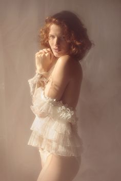 "Editorials: ""Soft focus"" - Emilie Pommelet by Vivienne Mok"
