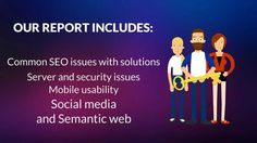 Detailed SEO Analysis report for your website along with Backlinks