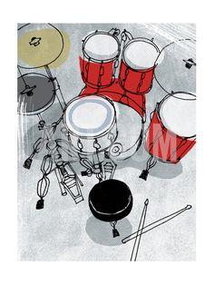 Retro Kit Premium Poster at Art.com