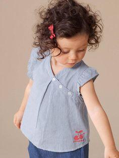 Kids Outfits Girls, Toddler Girl Dresses, Little Girl Fashion, Kids Fashion, Baby Girl Tops, Baby Dress Design, Kids Frocks Design, Baby Girl Dress Patterns, Frocks For Girls
