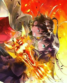 Rokuro and Benio | Twin Star Exorcists #tse