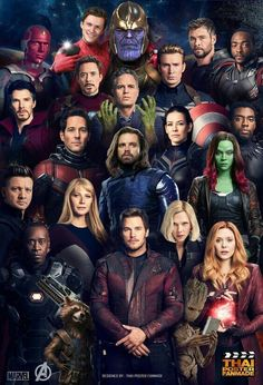Upcoming Movies in Marvel Cinematic Universe After the devastating events of Avengers: Infinity War the universe is in ruins due to the efforts Marvel Avengers, Marvel Dc Comics, Films Marvel, Marvel Jokes, Marvel Funny, Marvel Heroes, Avengers Poster, The Avengers Assemble, Thanos Marvel