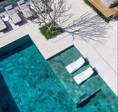 21 Best Swimming Pool Designs [Beautiful, Cool, and Modern] Landscaping swimming pool design ideas. That's 21 really stunning swimming pool design. Just how do you think of all the above swimming pool styles? Hope you discover a lot of inspiration below. Pool Spa, Hotel Pool, Swimming Pools Backyard, Swimming Pool Designs, Pool Landscaping, Hotel Swimming Pool, Swimming Pool Lights, Modern Landscaping, Outdoor Pool