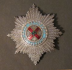 Order of Patrick, breast star, c. 1850 | British Medals by Rennie Alcock