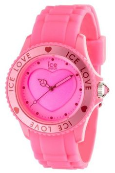Ice Love Large Pink Dial Plastic Ice. $74.95. We are authorized dealers for Ice Watch watches. Questions? Call us at 1(866) 923-4446. Free Domestic Shipping!. Includes a warranty card and certificate of authenticity. This Ice Watch watch comes in a stunning Ice Watch box. Save 40%!