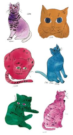 andy warhol's cats