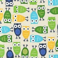 Ann Kelle - Urban Zoologie - Owls in Blue