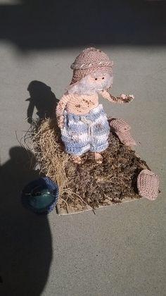 creatore di mattoni Little People, Crochet, Nativity, Mini, Floral, Flowers, Amigurumi, Births, Christmas Things