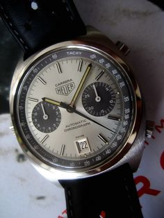 The Heuer Carrera will be my first vintage watch.