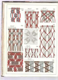 macramé points