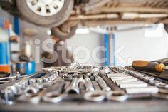 In Repair Service royalty-free stock photo