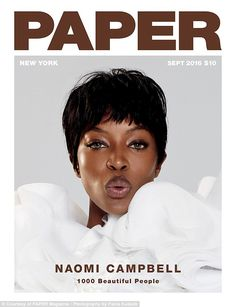 Out of this world: Naomi Campbell dons a stunning Viktor & Rolf Haute…