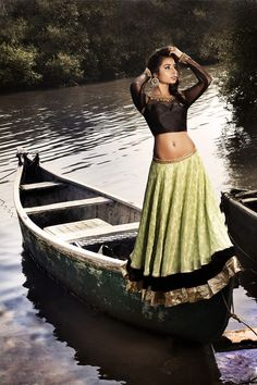 Now here's a rare combination - lime green and black! :) #wedding #lehenga