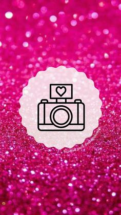 """Capas para destaques do instagram tema """" Glitter Rosa """"( para mais complementação segue o insta @capas_para_destaques_liih) Pink Instagram, Instagram Blog, Instagram Story, Glitter Wallpaper, Flower Wallpaper, Pink Glitter, Glitter Rosa, Barbie Model, App Logo"""