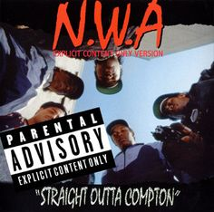 Straight Outta Compton disco NWA