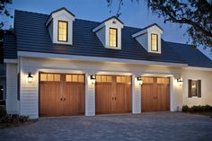 Canyon Ridge Steel and Wood Garage Door - Clopay Canyon Ridge Collection, Limited Edition Series