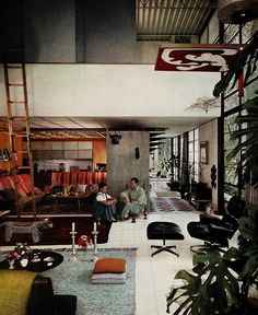 Charles and Ray Eames, Eames House, Pacific Palisades, California, 1949